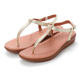 2420b640964  アウトレット フィットフロップ FitFlop TIA TOE-THONG SANDALS - LEATHER (Pale Gold