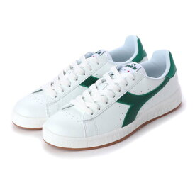 【アウトレット】ディアドラ Diadora game p (white/verdant green)
