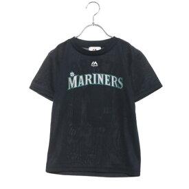 マジェスティック MAJESTIC 野球 半袖Tシャツ マリナーズイチロー ジュニアTシャツ MM08SM9009