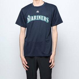 マジェスティック MAJESTIC 野球 半袖Tシャツ マリナーズイチロー Tシャツ MM08SM9009