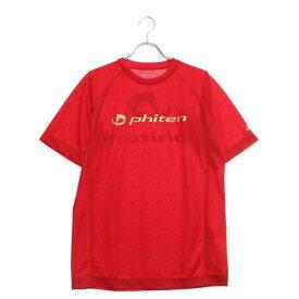 ファイテン Phiten バレーボール 半袖Tシャツ RAKUシャツSPORTS(吸汗速乾)半袖 JG168003