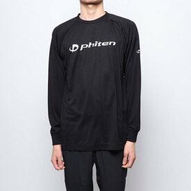 ファイテン Phiten バレーボール 長袖Tシャツ RAKUシャツSPORTS(吸汗速乾)長袖 JG180103