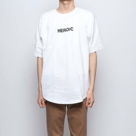 スタイルブロック STYLEBLOCK 発砲プリントビッグTシャツ (オフホワイト)