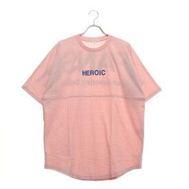 スタイルブロック STYLEBLOCK 発砲プリントビッグTシャツ (ピンク)