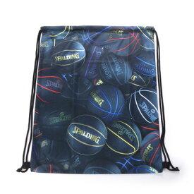 スポルディング SPALDING バスケットボール バッグ ナップサック ブラックボール SAK002BKB