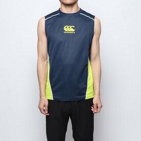 【アウトレット】カンタベリー CANTERBURY メンズ ラグビー 半袖シャツ PRACTICE SLEEVELESS TEE RG39006