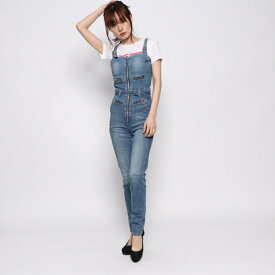 【アウトレット】ゲス GUESS LELI DENIM JUMPSUIT (BAMBOO)