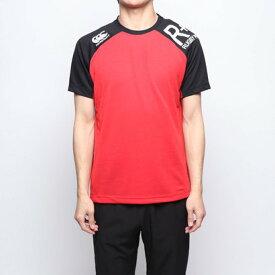 【アウトレット】カンタベリー CANTERBURY メンズ ラグビー 半袖シャツ WORKOUT TEE RP39030
