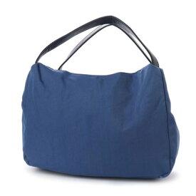 【アウトレット】●クーコ COOCO アオリ付ナイロントートバッグ (ブルー)