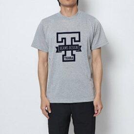 ティゴラ TIGORA メンズ 陸上/ランニング 半袖Tシャツ カレッジプリントTシャツ MMVSカレッジPTTSS ビームス デザイン
