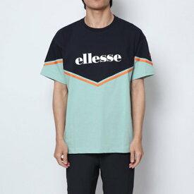 【アウトレット】エレッセ ellesse 半袖Tシャツ トライアングルブロックティー EH19109