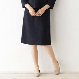 デッサン Dessin 綾織りツィード スカート (ネイビー)