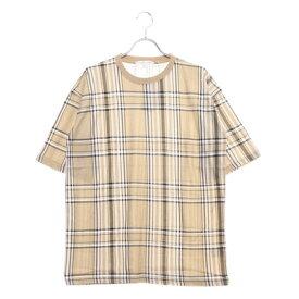 スタイルブロック STYLEBLOCK 総柄プリントビッグTシャツ (ベージュB)