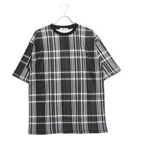 スタイルブロック STYLEBLOCK 総柄プリントビッグTシャツ (ブラックB)