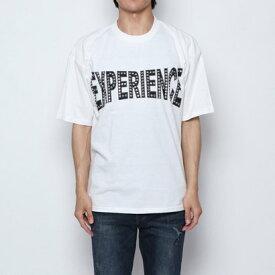スタイルブロック STYLEBLOCK ラインストーンプリントビッグTシャツ (オフA)