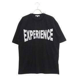 スタイルブロック STYLEBLOCK ラインストーンプリントビッグTシャツ (ブラックA)