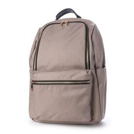 クーコ COOCO 9ポケット リュック 多機能 ポケット豊富 (グレー)