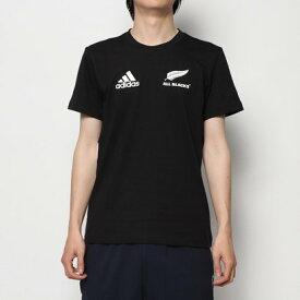 アディダス adidas ラグビー 半袖シャツ オールブラックスコットンT DN5991