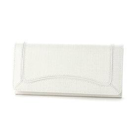 キプリス ウィメンズ CYPRIS Women's プロキオン かぶせハニーセル長財布 (ホワイト)