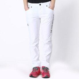 【アウトレット】ルコックスポルティフ le coq sportif ゴルフパンツ パンツ QGL8311 (ホワイト)