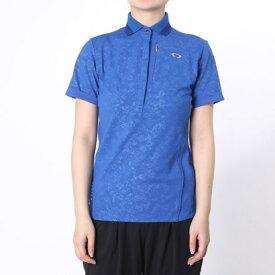 【アウトレット】オークリー OAKLEY ゴルフシャツ Barket Rose Shade Polo 532243JP ブルー (Imperial Blue)