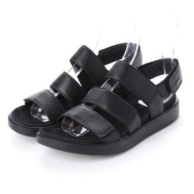 エコー ECCO FLOWT W Flat Sandal (BLACK)