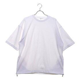 スタイルブロック STYLEBLOCK 裾スピンドル5分袖ビッグTシャツ (オフ)