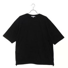 スタイルブロック STYLEBLOCK 裾スピンドル5分袖ビッグTシャツ (ブラック)