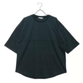 スタイルブロック STYLEBLOCK 綿ポンチ5分袖ビッグTシャツ (グリーン)