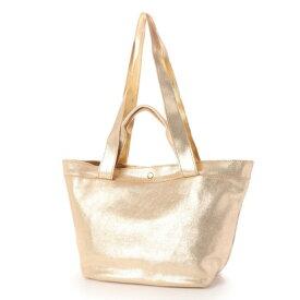 【アウトレット】ペルケ perche ペルケ perche / 牛革メタリック箔2ハンドルトートバッグ