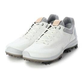 エコー ECCO M GOLF BIOM G 3 Golf Shoe (WHITE)
