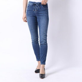 【アウトレット】ゲス GUESS SEXY CURVE LACE-UP DENIM PANT (AMARA WASH)