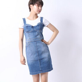 【アウトレット】ゲス GUESS GIA DENIM BODYCON DRESS (SIA WASH)