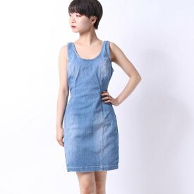 【アウトレット】ゲス GUESS SLEEVELESS CHAMBRAY DRESS (RYKER WASH)