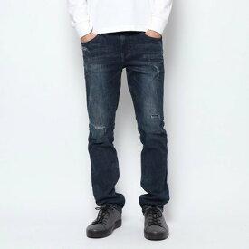 【アウトレット】ゲス GUESS MEN'S DENIM PANTS (DARK BLUE)