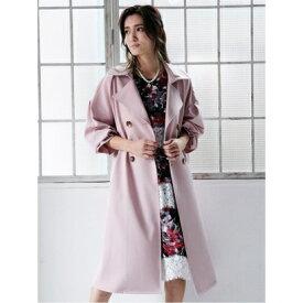 Million Carats カラーボリュームトレンチコート[DRESS/ドレス] ピンク