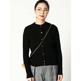 【アウトレット】X-girl KNITCARDIGAN BLACK