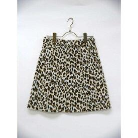 【アウトレット】ハニーミーハニー HONEY MI HONEY leopardskirt/レオパードスカート (イエロー)