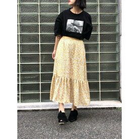 【アウトレット】ハニーミーハニー HONEY MI HONEY daisyskirt/デイジースカート (イエロー)