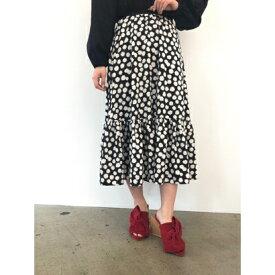 【アウトレット】ハニーミーハニー HONEY MI HONEY daisyskirt/デイジースカート (ブラック)