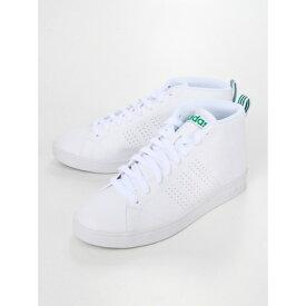 【アウトレット】Sneakers Selection VALCLEAN2MID/バルクリーン2ミッド(グリーン) ランニングホワイト/ランニングホワイト/グリーン