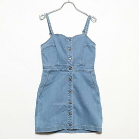 【アウトレット】ゲス GUESS DENIM ONE PIECE (LIGHT BLUE)