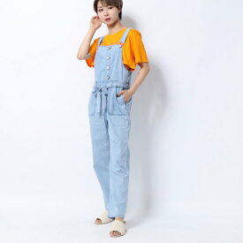 ゲス GUESS DENIM OVERALL (LIGHT BLUE)