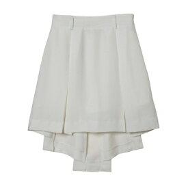 【アウトレット】rienda suelta プリーツスカート ホワイト