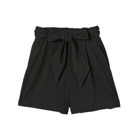 rienda suelta リボンショートパンツ ブラック