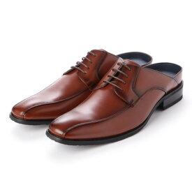 トウキョウブラザー TOKYO BROTHER メンズ ビジネスサンダル 紳士靴 クッション性 オフィス スリッポン 防滑 (ブラウン)