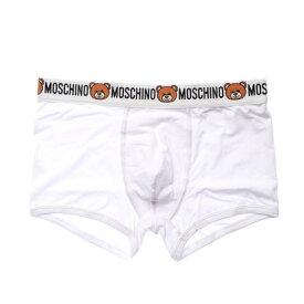 モスキーノ アンダーウェア Moschino Underwear TRUNK (WHITE)【返品不可商品】