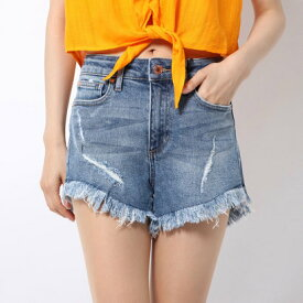 ゲス GUESS MICHELE 1981 DENIM SHORTS (MICHELE WASH)