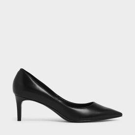 【再入荷】クラシックポインテッドトゥ パンプス / Classic Pointed Toe Pumps(Black)