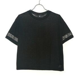 ニューバランス new balance レディース フィットネス 半袖Tシャツ ボクシーTシャツ AWT93152
